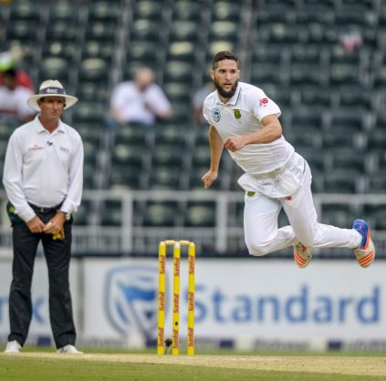 Wayne Parnell took 4/51 in the Sri Lankans' second innings. Photo: Sydney Seshibedi/Gallo Images