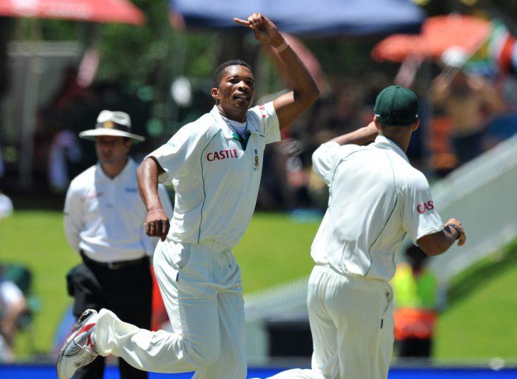 Makhaya Ntini's 100th Test was actually a curtain-call on his Test career. Photo: Duif du Toit/Gallo Images.