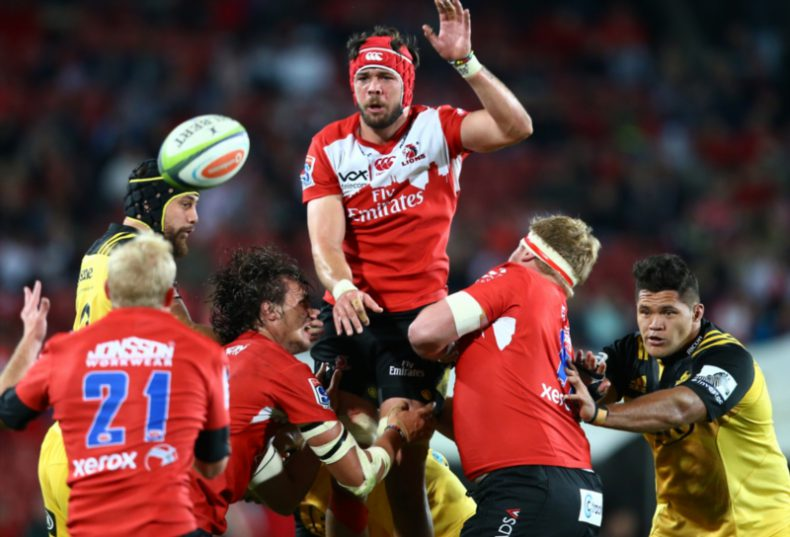 The Lions will play three warm-up games as part of their preparations for Super Rugby. Photo: Steve Haag/Gallo Images.