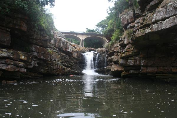 Uvongo lagoon. Picture: South Coast Herald.