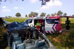 Two killed, three injured in Gauteng car crash