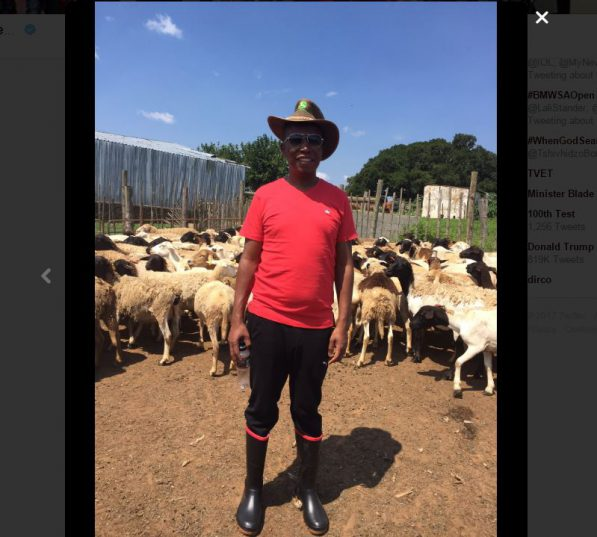 Julius Malema, who wants land to be expropriated without compensation. Picture: EFF