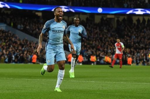 Sergio Aguero stars as Manchester City overcome Monaco in an enthralling match