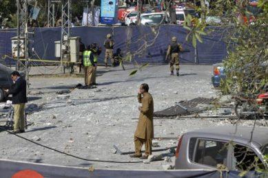 Pakistan on edge as eight killed in fresh Lahore bomb blast