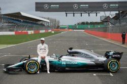 Lewis Hamilton unveils his ride for 2017