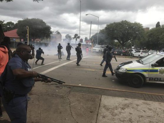 Shots fired during xenophobic protest in PTA