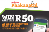 WIN R50 AIRTIME WITH MGOSI!