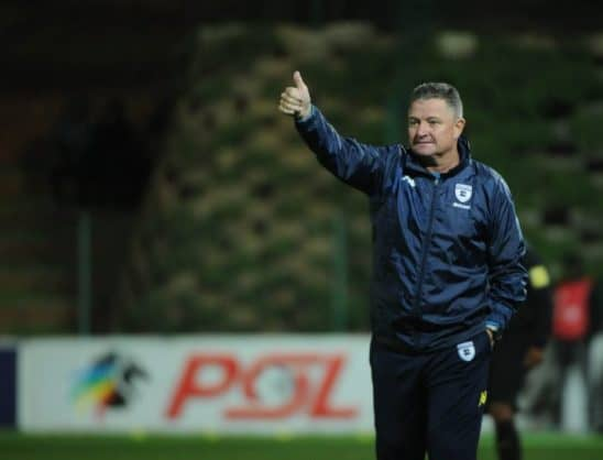 Gavin Hunt coach of Bidvest Wits (Sydney Mahlangu/BackpagePix)