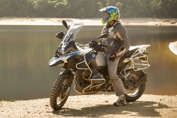 The R1200GS Adventure. Picture: Greg Beadle