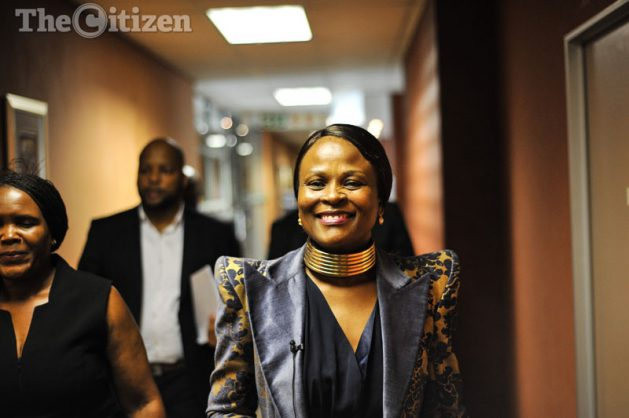 Advocate Busisiwe Mkhwebane, the Public Protector. Picture: Jacques Nelles