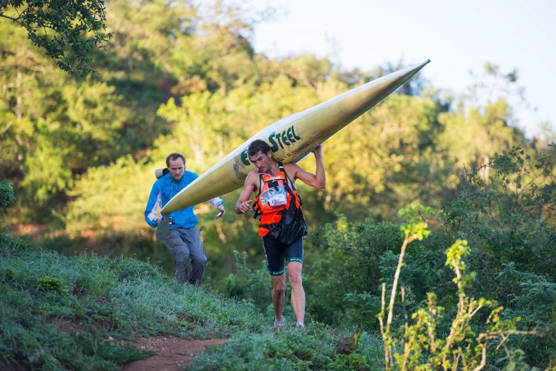 Andy Birkett looks set to defend his Dusi crown. Photo: Anthony Grote/Gameplan Media.