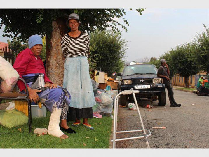 Diana and Elizabeth Makoloko were both tenants who were forcefully evicted from 25 Dekker Street, Krugerdorp West.