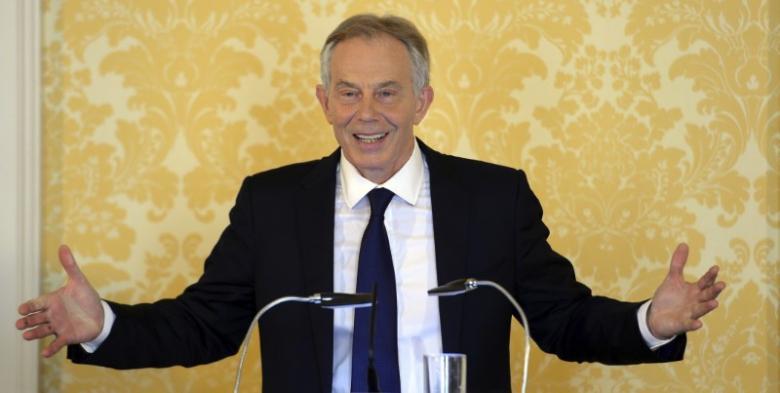 Former British Prime Minister, Tony Blair.