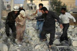 Syria vows 'retaliation' as attack jolts peace talks