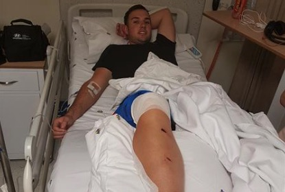 Gordon Smit was admitted to the Netcare Union Hospital and discharged on February 14. Picture: Benoni City Times