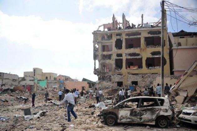 Shabaab militants were driven out of Mogadishu in 2011 but continue to launch terror attacks.