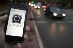 Uber customer stabbed in face