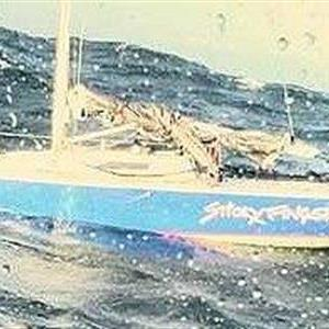 A 30-foot yacht named Sticky Fingers had to be abandoned due to heavy seas this past weekend.