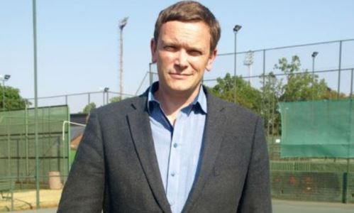 Richard Glover has lots of plan for tennis in South Africa. Photo: Twitter.