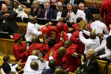Ongoing mayhem in parliament tarnishing SA's global image