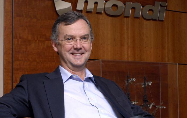 Mondi CEO David Hathorn. Picture: FINANCIAL MAIL