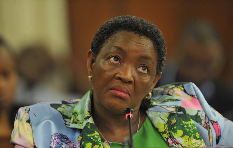 ANC Women's League President Bathabile Dlamini