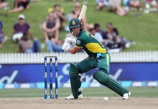 Where should the in-form AB de Villiers bat? Photo: Michael Bradley/AFP.