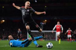 Arsenal, Bayern fined for troublesome fans