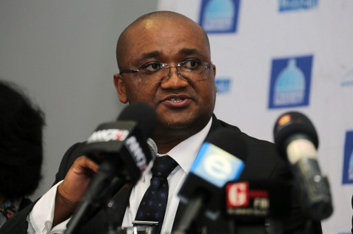 Alec Moemi, DG of the Ministry of Sport and Recreation, was unrepentant about South Africa losing Durban's bid for the Commonwealth Games. Photo: Anesh Debiky/AFP.