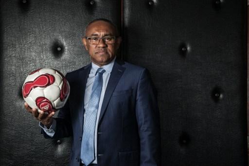 African football's new big fish: Ahmad Ahmad. Photo: AFP.
