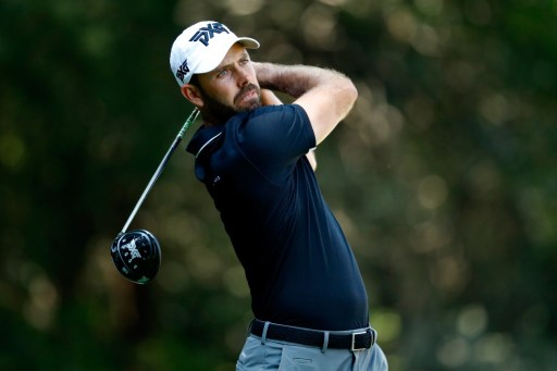 Bad luck and timing for Charl Schwartzel. Photo: Buda Mendes/Getty Images/AFP.