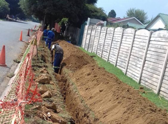 Cables on a total stretch of 1.2km will be replaced in Boksburg to prevent power outages. Picture: City of Ekurhuleni