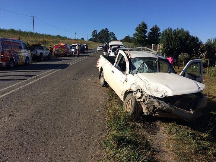 The accident scene. Picture: ANA