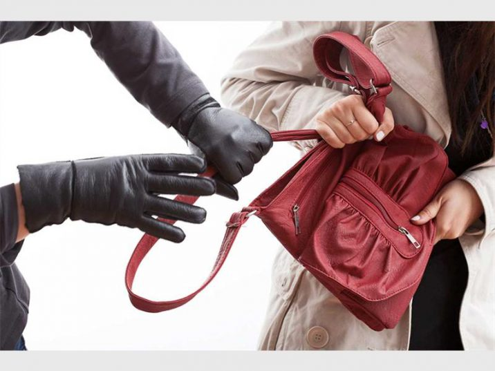A woman was assaulted during a robbery in Schoeman Street resulting in a broken nose and several bruises.