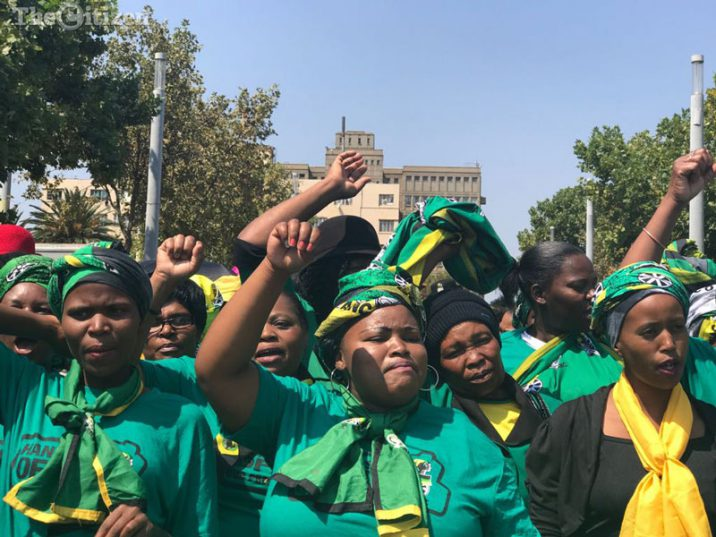 FILE PICTURE: ANC Women's League members. Picture: Refilwe Modise.
