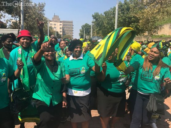 ANC Women's League members. Picture: Refilwe Modise.