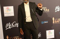 Actor Thapelo Mokoena bags Youth Achiever award at Saftas