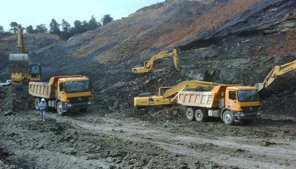 Green protest against Wakkerstroom mine