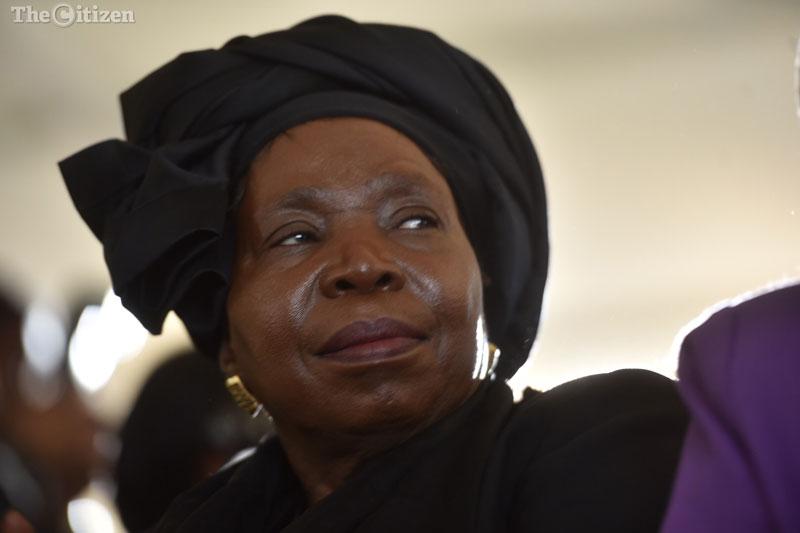 Nkosazana Dlamini-Zuma at Ahmed Kathrada's funeral, 29 March 2017. Picture: Tracy-Lee Stark