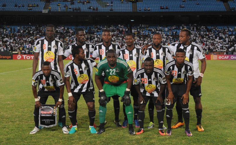 TP Mazembe Team Picture (Sydney Mahlangu/BackpagePix)
