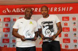 Manyama, Mosimane win PSL monthly awards