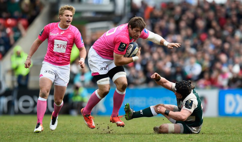 Willem Alberts is safe ... in pink. Photo: Stu Forster/Getty Images.