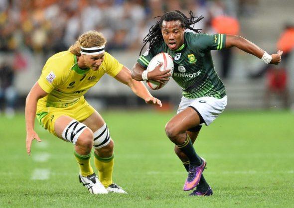 Points machine Cecil Afrika is back for the Blitzboks. Photo: Ashley Vlotman/Gallo Images.