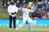 Keshav Maharaj prospers on old-fashioned day of Test cricket