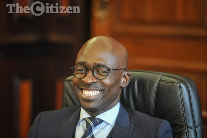The newly appointed Finance Minister, Malusi Gigaba is seen at the National Treasury during a meet and greet opportunity, 31 March 2017, Pretoria. Picture: Jacques Nelles