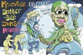Ghost cartoon: 'Butterbile Dumbmeanie'