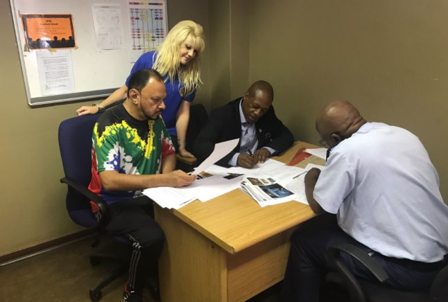 #ObatalaMcambi @AndyMashaile5 Former chair of the Gauteng CPF board also opening criminal charges at Brooklyn @SAPoliceService. Picture: Twitter