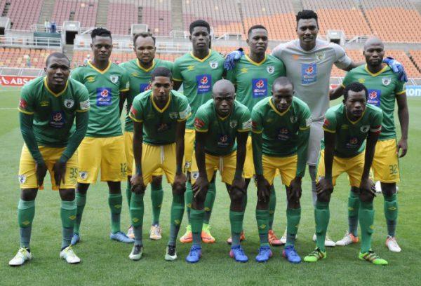 Baroka FC team photo  (Photo by Philip Maeta/Gallo Images)