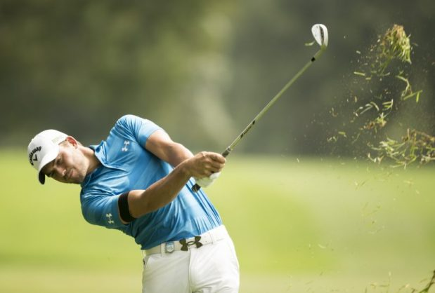 Haydn Porteous is an early frontrunner in the Tshwane Open. (Photo by Luke Walker/Sunshine Tour/Gallo Images)