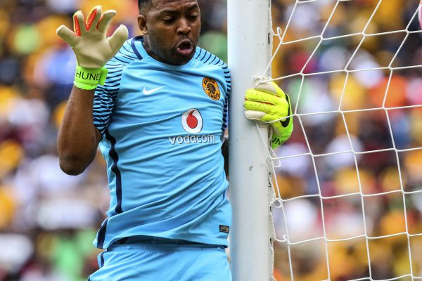 Itumeleng Khune of Kaizer Chiefs (Photo by Barry Aldworth/Gallo Images)